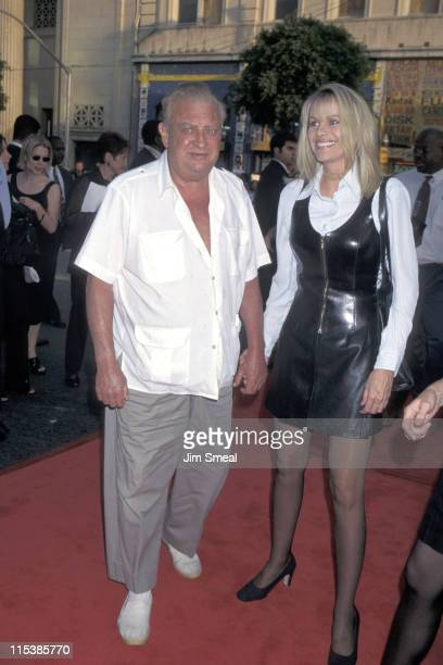 Rodney Dangerfield and wife Joan during 'The Cable Guy' Los Angeles Premiere at Mann's Chinese Theater in Hollywood California United States