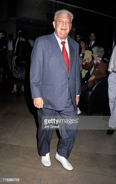 Rodney Dangerfield during George Schlatter Honored at Benefit for the Scott Newman Center at Beverly Hilton Hotel in Beverly Hills California United...