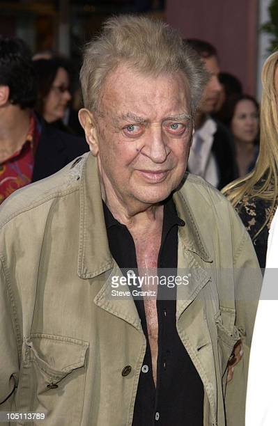 Rodney Dangerfield during The World Premiere of Bruce Almighty at Universal Amphitheatre in Universal City California United States
