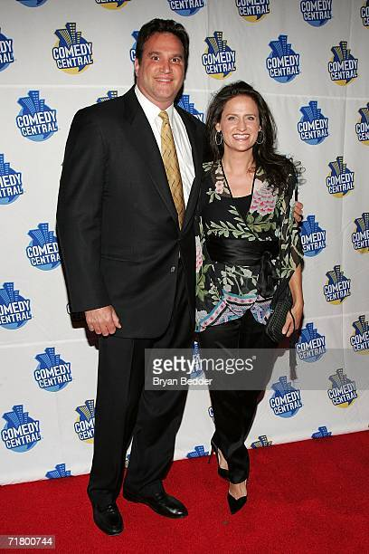 Rodney Dangerfield's daughter Melanie RoyFriedman and husband Dave Friedman arrives the Comedy Central special screening of Legends Rodney...