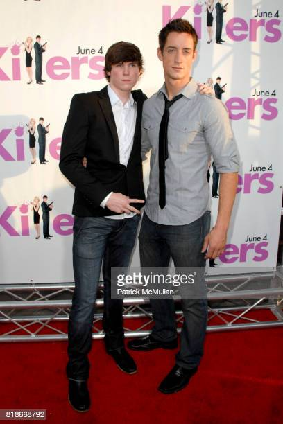 Rodney Edwards and Justin Price attend 'Killers' Los Angeles Premiere at ArcLight Cinemas on June 1 2010 in Hollywood California