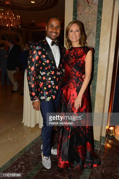 Rodney Hamilton and Kate Lear attend Ballet Hispánico's CARNAVAL Gala 2019 at The Plaza Hotel on May 6 2019 in New York City