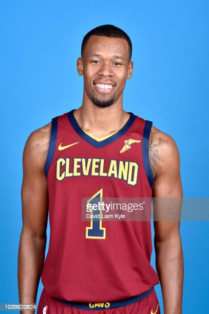 Rodney Hood of the Cleveland Cavaliers poses for a head shot during the Cleveland Cavaliers Media Day on September 24 2018 at the Cleveland Clinic...
