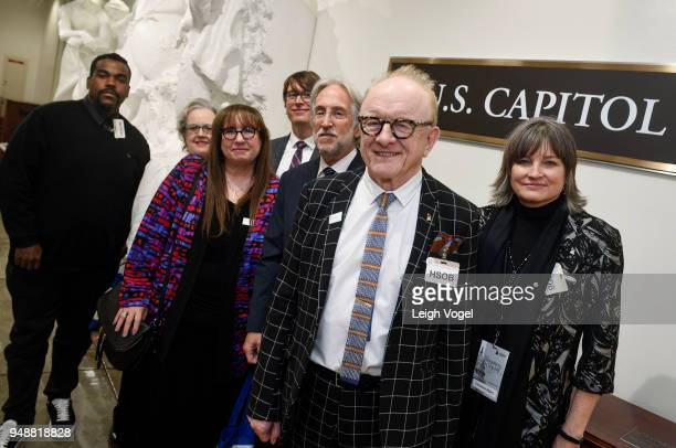 Rodney Jerkins Ruby Marchand Diane Blagman Justin Roberts President of The Recording Academy Neil Portnow Producer and musician Peter Asher and...