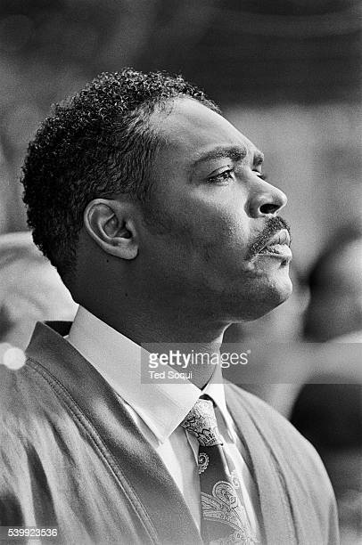 Rodney King giving his 'can't we all get along speech' Los Angeles has undergone several days of rioting due to the acquittal of the LAPD officers...