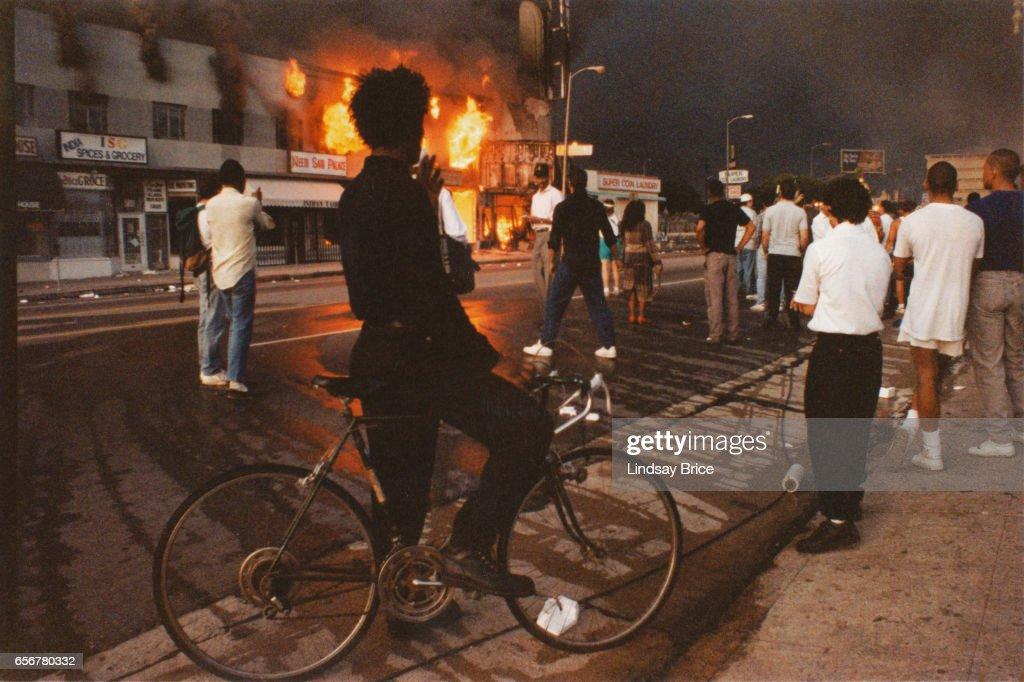 Los Angeles Riots : Photo d'actualité