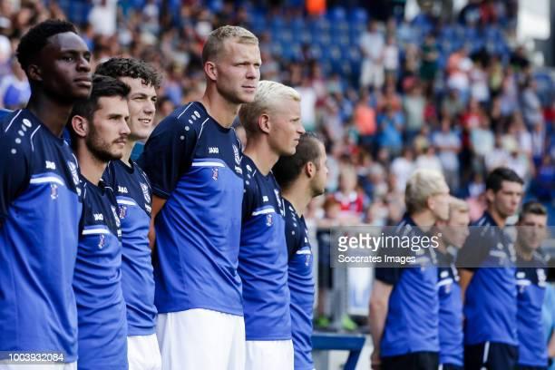 Rodney Kongolo of SC Heerenveen Jizz Hornkamp of SC Heerenveen Jordy Bruijn of SC Heerenveen Henk Veerman of SC Heerenveen Lucas Woudenberg of SC...