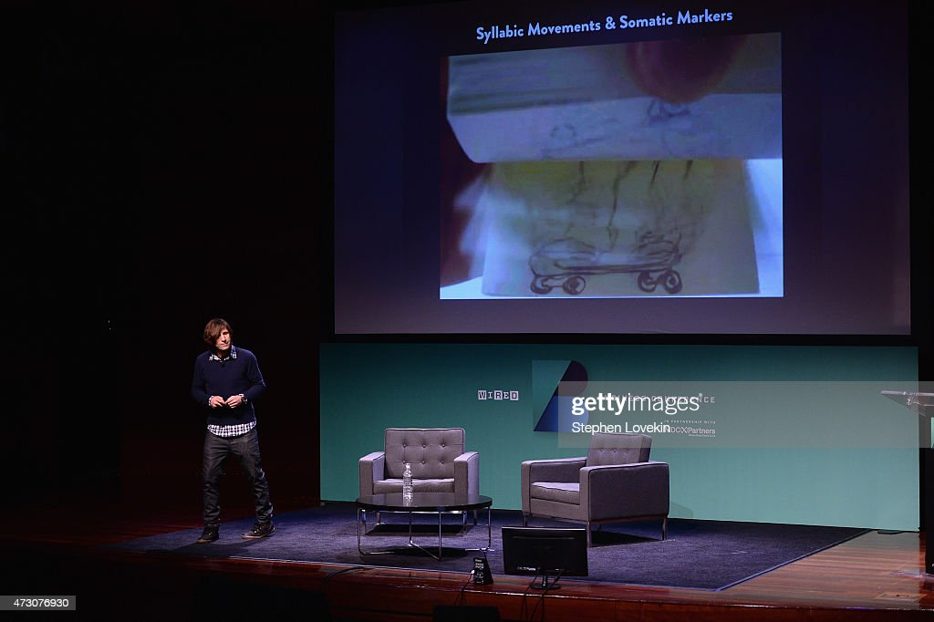 Rodney Mullen, Skateboarder speaks onstage at the WIRED Business Conference 2015 at Museum of Jewish Heritage on May 12, 2015 in New York City.