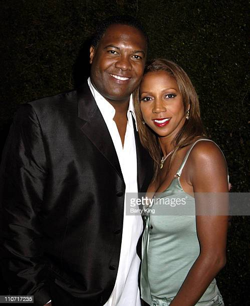 Rodney Peete and Holly Robinson-Peete during Entertainment Weekly Magazine 3rd Annual Pre-Emmy Party - Arrivals at The Cabana Club in Los Angeles,...