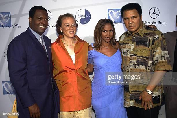 Rodney Peete Lonnie Ali Holly Robinson Peete Muhammad Ali