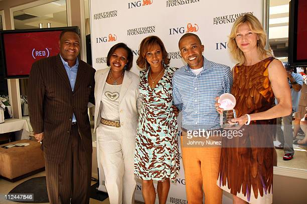 Rodney Peete Rhonda Mims Holly Robinson Kevin Liles and Tamsin Smith