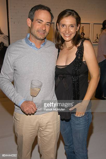 Rodney Propp and Delphine Krakoff attend COACH Legacy Photo Exhibit by REED KRAKOFF at Coach on August 26 2006 in East Hampton NY