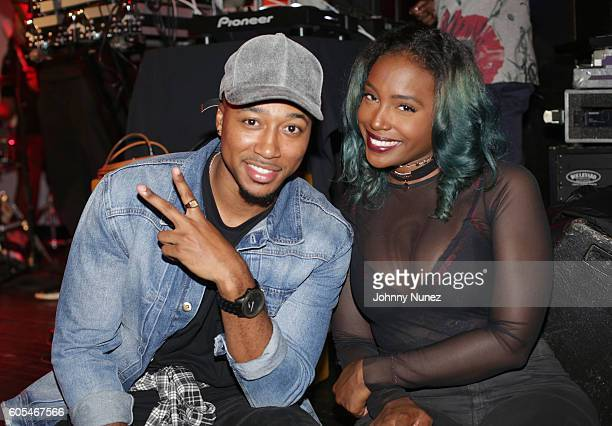 Rodney Rikai and Scottie Beam attend a BET Showcase at SOB's on September 12 2016 in New York City