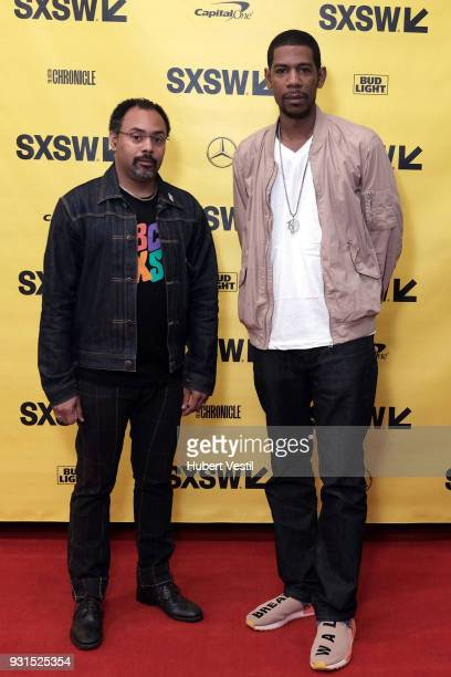 Rodney Sampson and Young Guru attend Music Tech A Gateway to Awaken America's Youth with Young Guru during SXSW at Austin Convention Center on March...