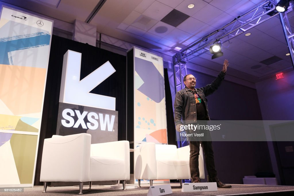 Rodney Sampson speaks onstage at Music Tech: A Gateway to Awaken America's Youth with Young Guru during SXSW at Austin Convention Center on March 13, 2018 in Austin, Texas.