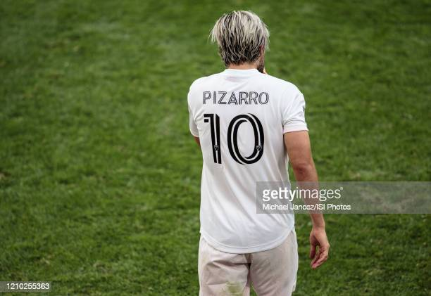 Rodolfo Pizarro of Inter Miami CF during a game between Inter Miami CF and Los Angeles FC at Banc of California Stadium on March 01 2020 in Los...
