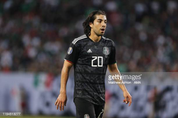 Rodolfo Pizarro of Mexico during the 2019 CONCACAF Gold Cup Final between Mexico and United States of America at Soldier Field on July 7 2019 in...