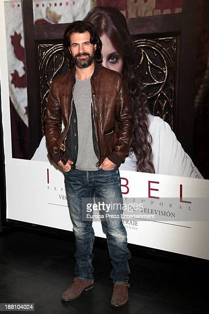 Rodolfo Sancho attends 'Isabel Vestuario de la serie de television' on November 14 2013 in Madrid Spain