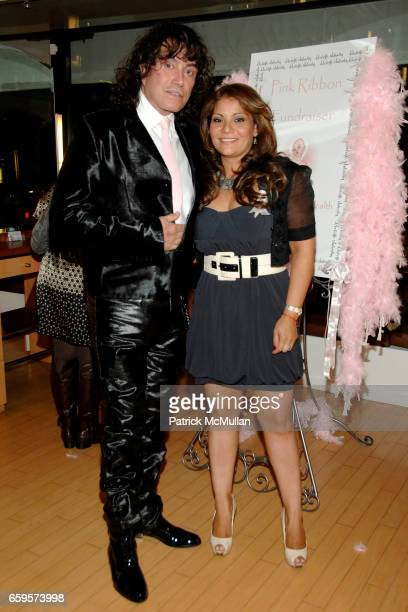 "Rodolfo Valentin and Eva Martinez attend Sofia's ""Hair for Health"" Annual Party at the Rodolfo Valentin Salon and Spa on October 11, 2009 in New York..."