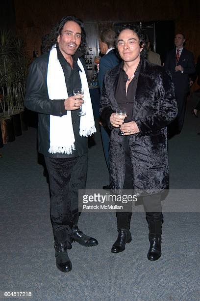 Rodolfo Valentin and George Perez attend House Garden Celebrate The Publication of A Hedonist In The Cellar at Four Seasons on November 13 2006 in...