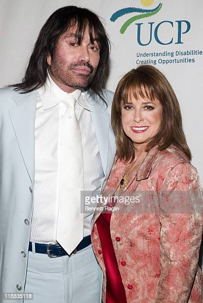 Rodolfo Valentin and Joan Jadell during United Cerebral Palsy of New York City Hosts 6th Annual Women Who Care Luncheon in New York New York United...