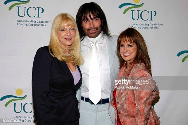 Rodolfo Valentin and Joan Jedell attend The United Cerebral Palsy of New York 6th Annual Women Who Care Luncheon at Cipriani 42nd Street on May 8...