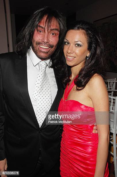 Rodolfo Valentin and Maria Aronova attend CHERI KAUFMAN and friends celebrate Summer In The City at Le Cirque NYC on June 23 2008 in New York City