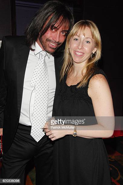 Rodolfo Valentin and Rebecca Silver attend CHERI KAUFMAN and friends celebrate Summer In The City at Le Cirque NYC on June 23 2008 in New York City