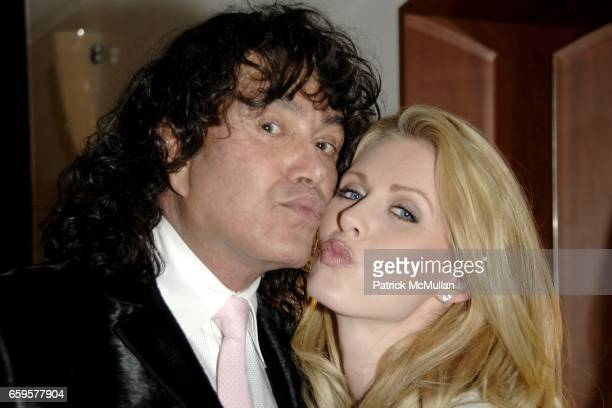 "Rodolfo Valentin and Serene Aandahl attend Sofia's ""Hair for Health"" Annual Party at the Rodolfo Valentin Salon and Spa on October 11, 2009 in New..."