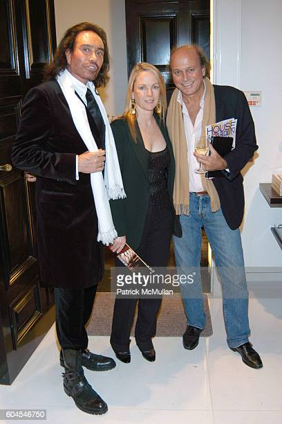 Rodolfo Valentin Anne Hearst and Christophe Von Hohenberg attend House Garden Host An Evening at Ingrao to Celebrate the December 2006 Issue at...