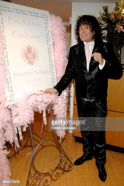"Rodolfo Valentin attends Sofia's ""Hair for Health"" Annual Party at the Rodolfo Valentin Salon and Spa on October 11, 2009 in New York City."