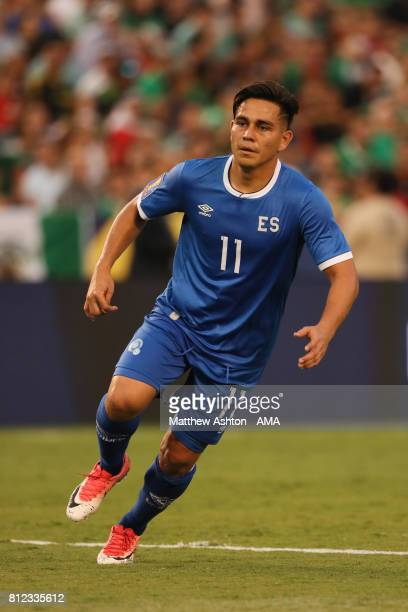 Rodolfo Zelaya of El Salvador during the 2017 CONCACAF Gold Cup Group C match between Mexico and El Salvador at Qualcomm Stadium on July 9 2017 in...