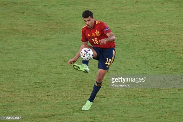 Rodri Hernandez of Spain during the match between Spain and Sweden of Euro 2020, group E, matchday 1, played at La Cartuja Stadium on June 14, 2021...