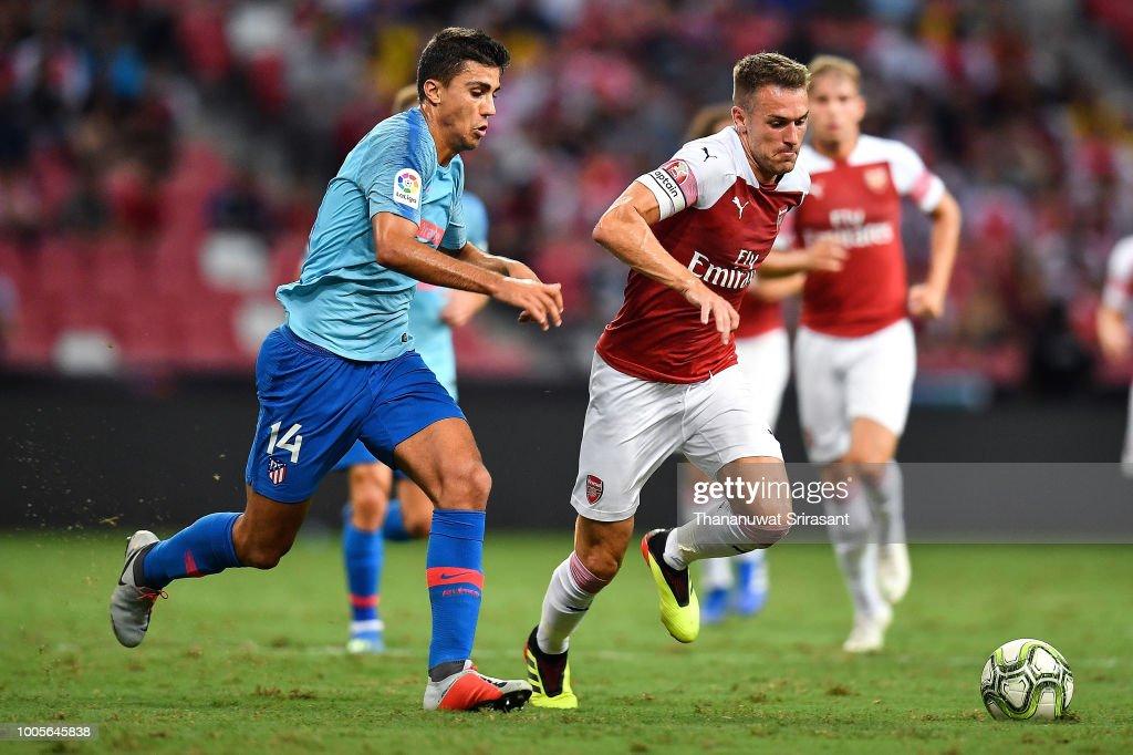 Club Atletico de Madrid v Arsenal - International Champions Cup 2018 : News Photo