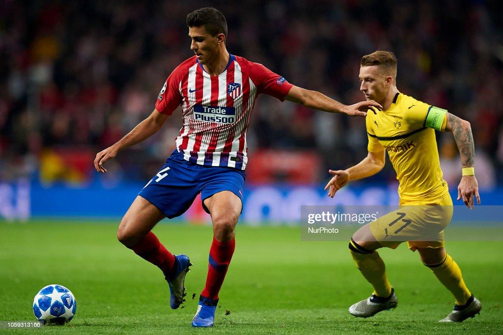 Atletico Madrid V Borussia Dortmund - Champions League : News Photo