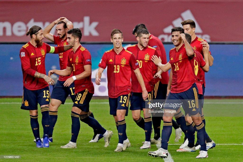 Spain  v Germany -UEFA Nations league : News Photo