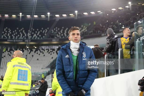 Rodrigo Bentancur before the Serie A football match between Juventus FC and Genoa CFC at Allianz Stadium on 22 January 2018 in Turin Italy
