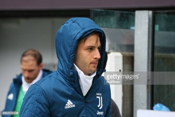 Rodrigo Bentancur before the Serie A football match between Juventus FC and Udinese Calcio at Allianz Stadium on 11 March 2018 in Turin Italy...