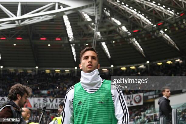 Rodrigo Bentancur before the Serie A football match between Juventus FC and US Sampdoria at Allianz Stadium on 15 April 2018 in Turin Italy