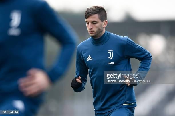 Rodrigo Bentancur during a Juventus training session at Juventus Center Vinovo on November 28 2017 in Vinovo Italy