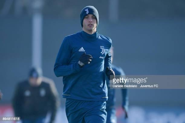 Rodrigo Bentancur during a Juventus Training Session at Juventus Center Vinovo on December 18 2017 in Vinovo Italy