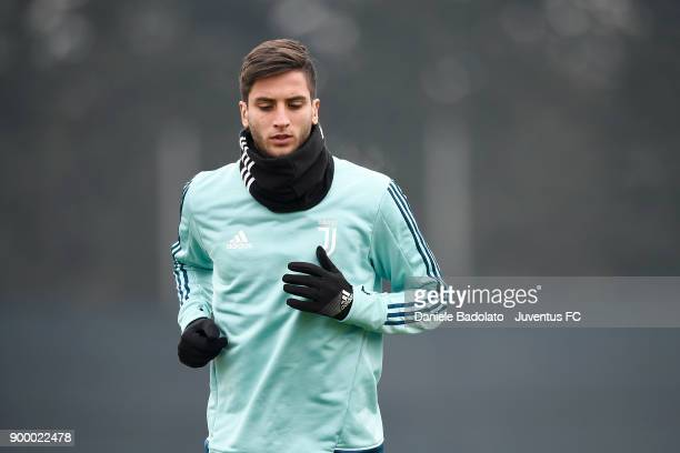 Rodrigo Bentancur during a Juventus Training Session at Juventus Center Vinovo on December 31 2017 in Vinovo Italy