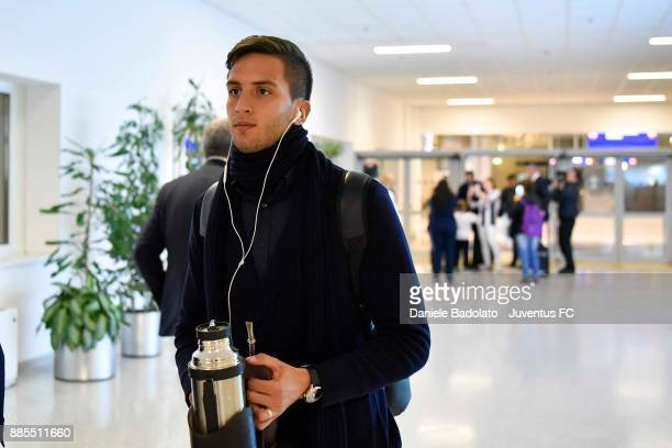 Rodrigo Bentancur during a Juventus Travel to Athens ahead of the UEFA chanpions League match versus Olimpiacos at on December 4 2017 in Athens Greece