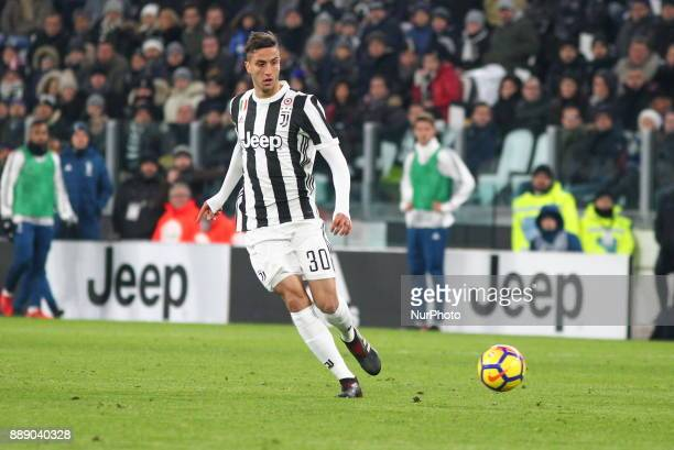 Rodrigo Bentancur during the Serie A football match between Juventus FC and FC Internazionale at Allianz Stadium on 09 December 2017 in Turin Italy...