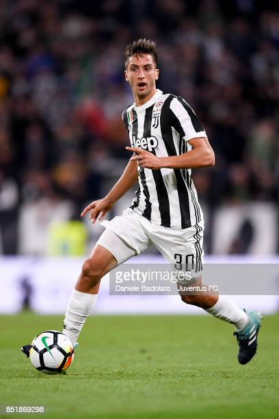 Rodrigo Bentancur during the Serie A match between Juventus and ACF Fiorentina on September 20 2017 in Turin Italy
