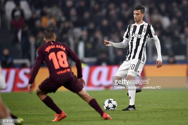 Rodrigo Bentancur during the UEFA Champions League group D match between Juventus and FC Barcelona at Allianz Stadium on November 22 2017 in Turin...