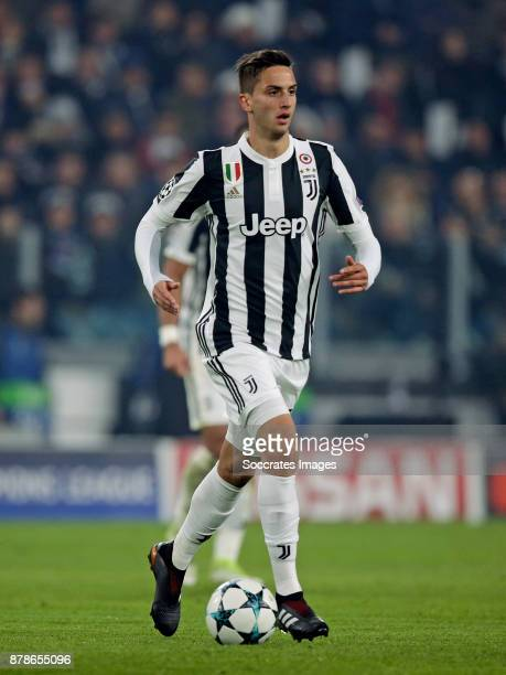 Rodrigo Bentancur of Juventus during the UEFA Champions League match between Juventus v FC Barcelona at the Allianz Stadium on November 22 2017 in...