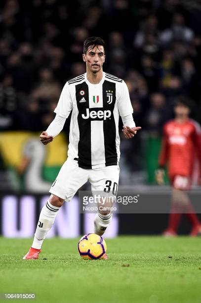 Rodrigo Bentancur of Juventus FC in action during the Serie A football match between Juventus FC and SPAL. Juventus FC won 2-0 over SPAL.