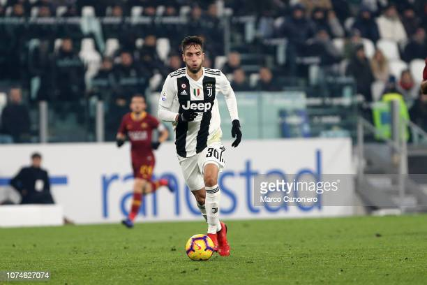 Rodrigo Bentancur of Juventus FC in action during the Serie A football match between Juventus Fc and As Roma. Juventus Fc wins 1-0 over As Roma.