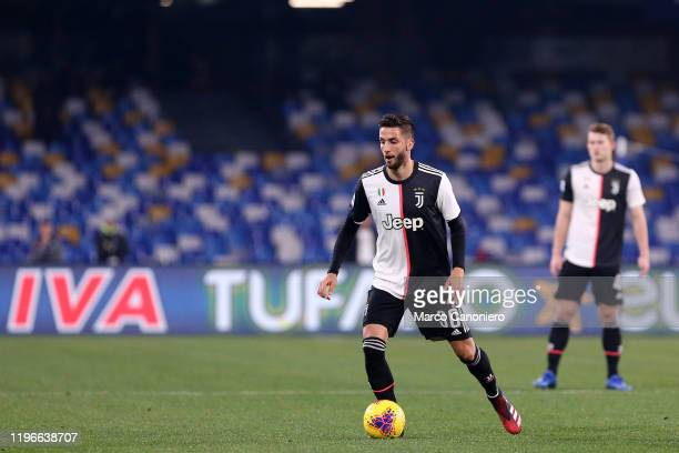 Rodrigo Bentancur of Juventus FC in action during the Serie A match between Ssc Napoli and Juventus Fc. Ssc Napoli wins 2-1 over Juventus Fc.